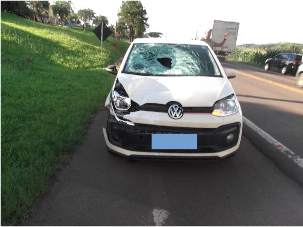 Adolescente morre após ser atropelado na BR-282 em Vargem Bonita