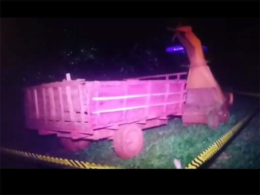 Agricultor morre em acidente com máquina agrícola em Vitorino