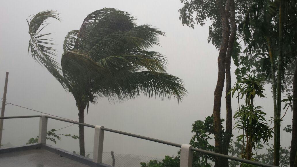 Defesa Civil emite alerta de temporais, com ventos de até 60 km/h