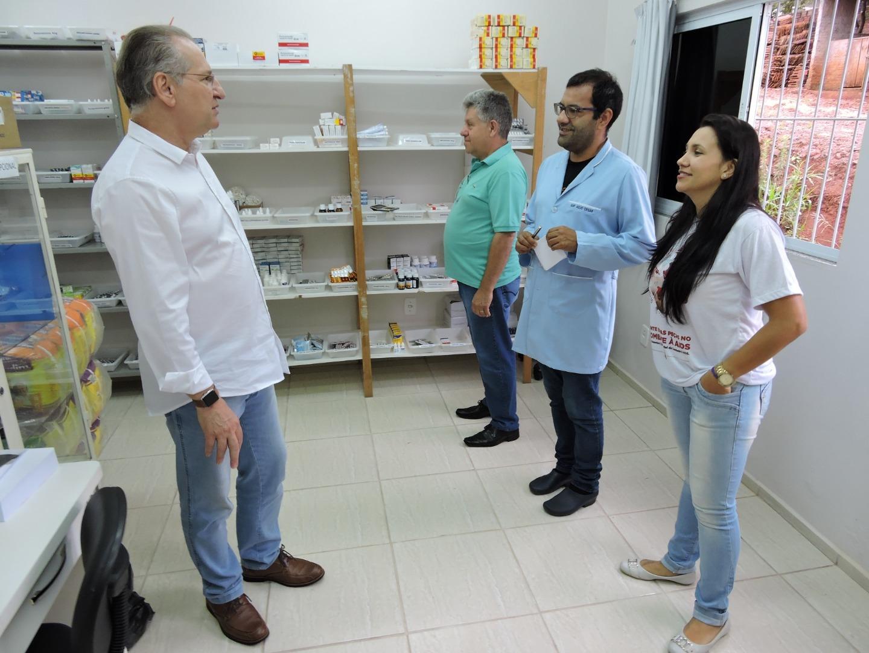 Gestores do Município acompanham trabalho nos postos de saúde