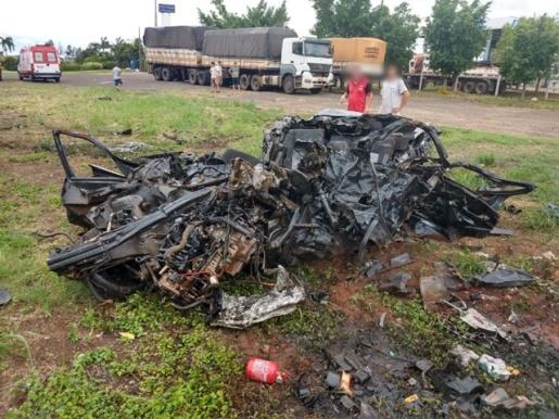Acidente mata cinco pessoas na BR-153 no Paraná