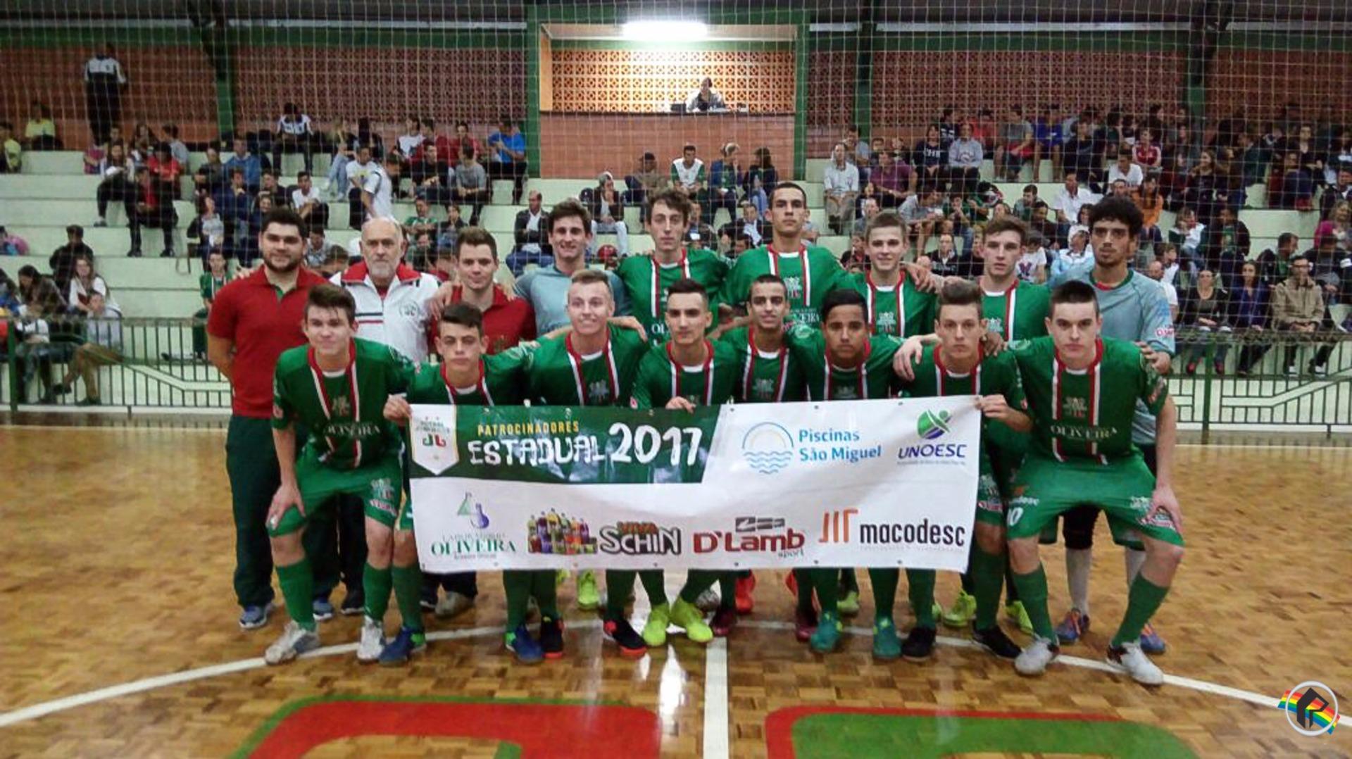 Joni Gool Sub-17 vence Videira pelo Estadual de Futsal 2017