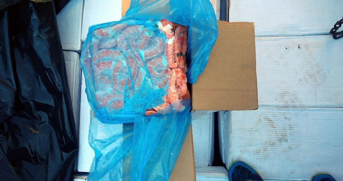 Polícia Federal apreende mais de quatro toneladas de camarão