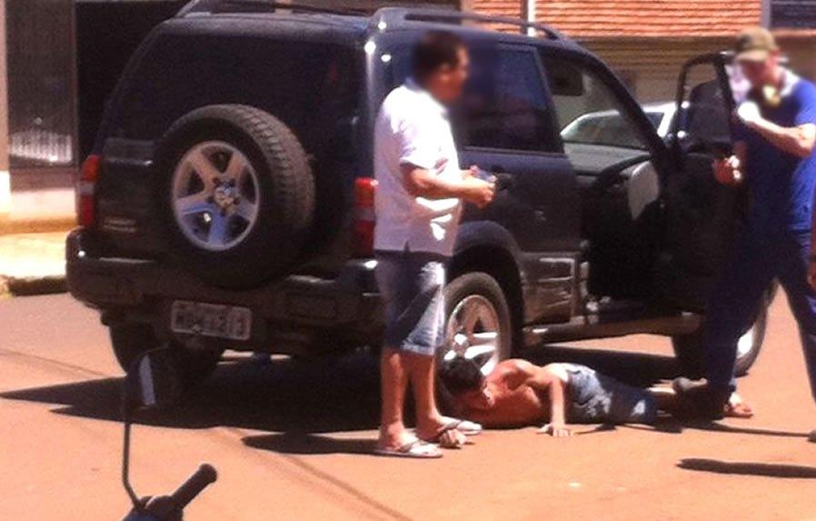 Foragido é preso durante tentativa de assalto em Dionísio Cerqueira