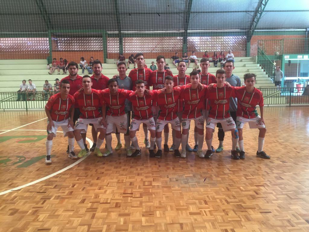 Sub-16 do Joni Gool conquista vaga e está na final da Liga Catarinense