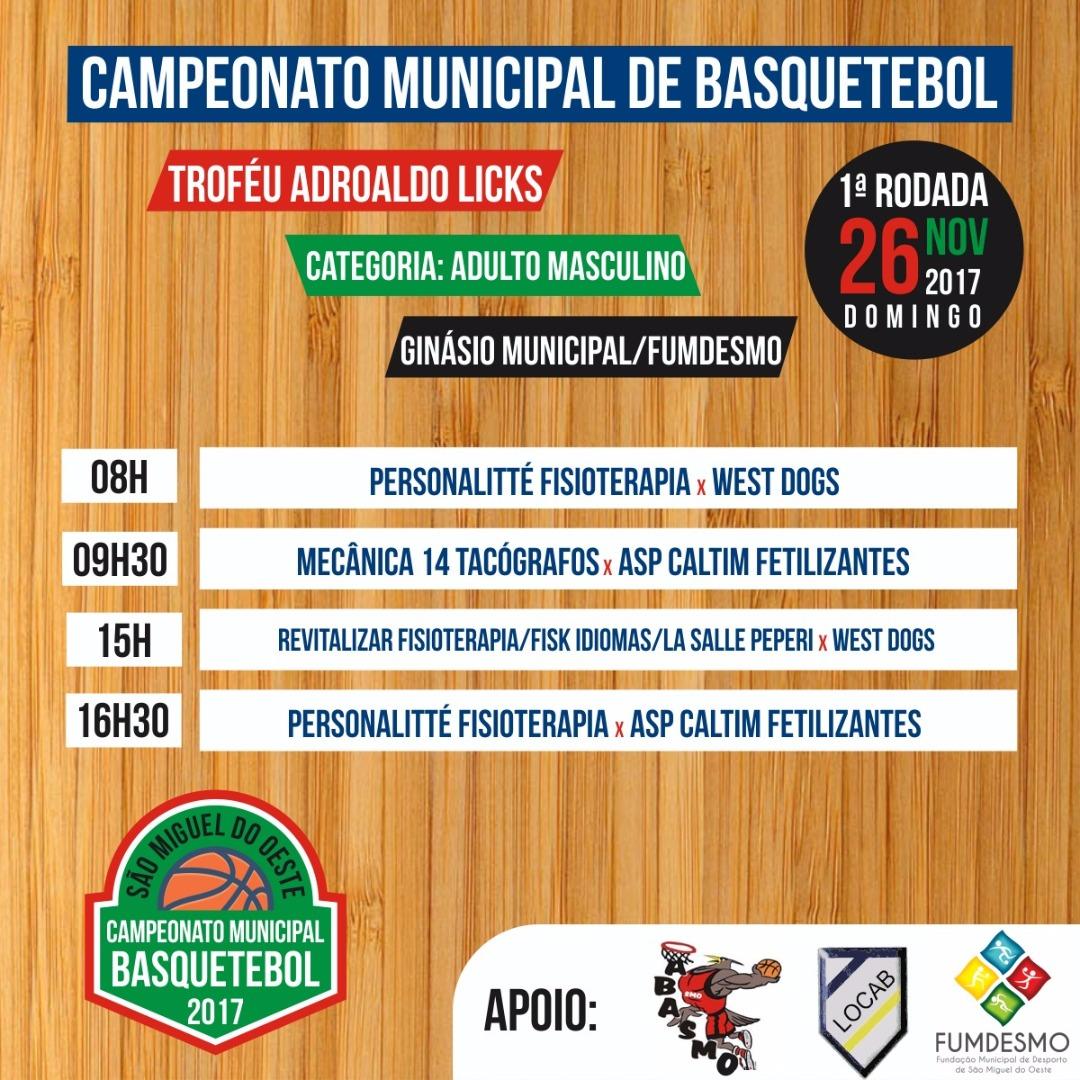 Basqueteiros de São Miguel organizam Campeonato Municipal