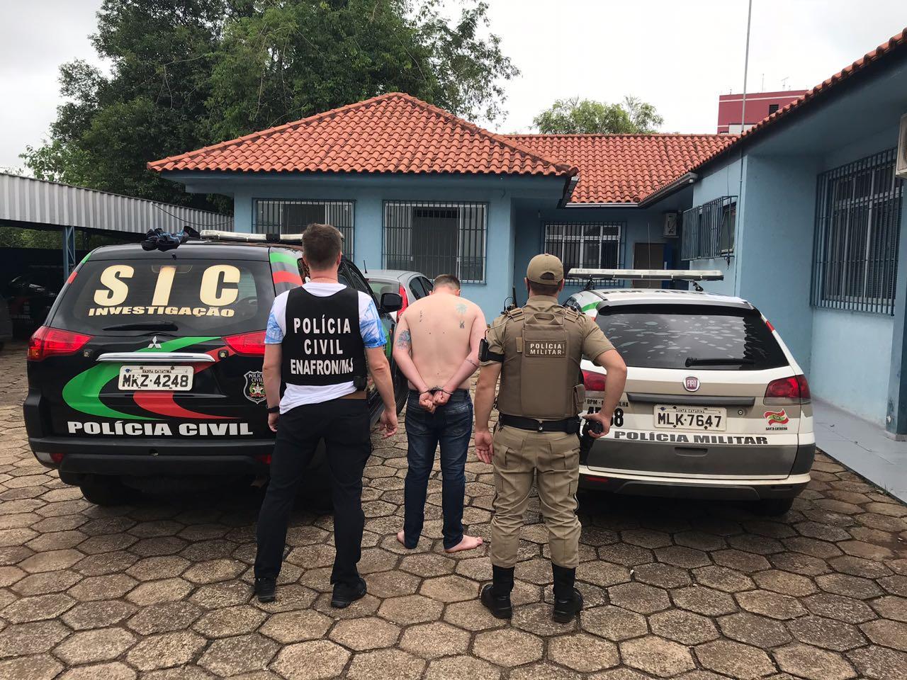 Polícia Civil cumpre mandado de prisão em Maravilha