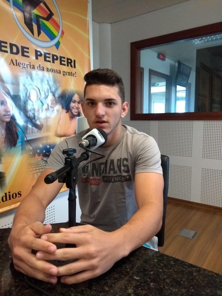 Jovem da região é convocado para a Seleção Catarinense de Futebol Americano