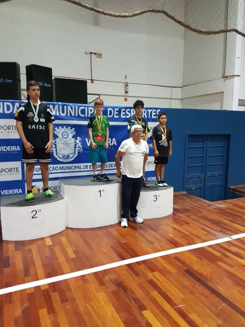 Atletas de São Miguel do Oeste se destacam no tênis de mesa