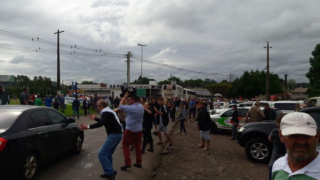 Comitiva de Lula já está em São Miguel do Oeste