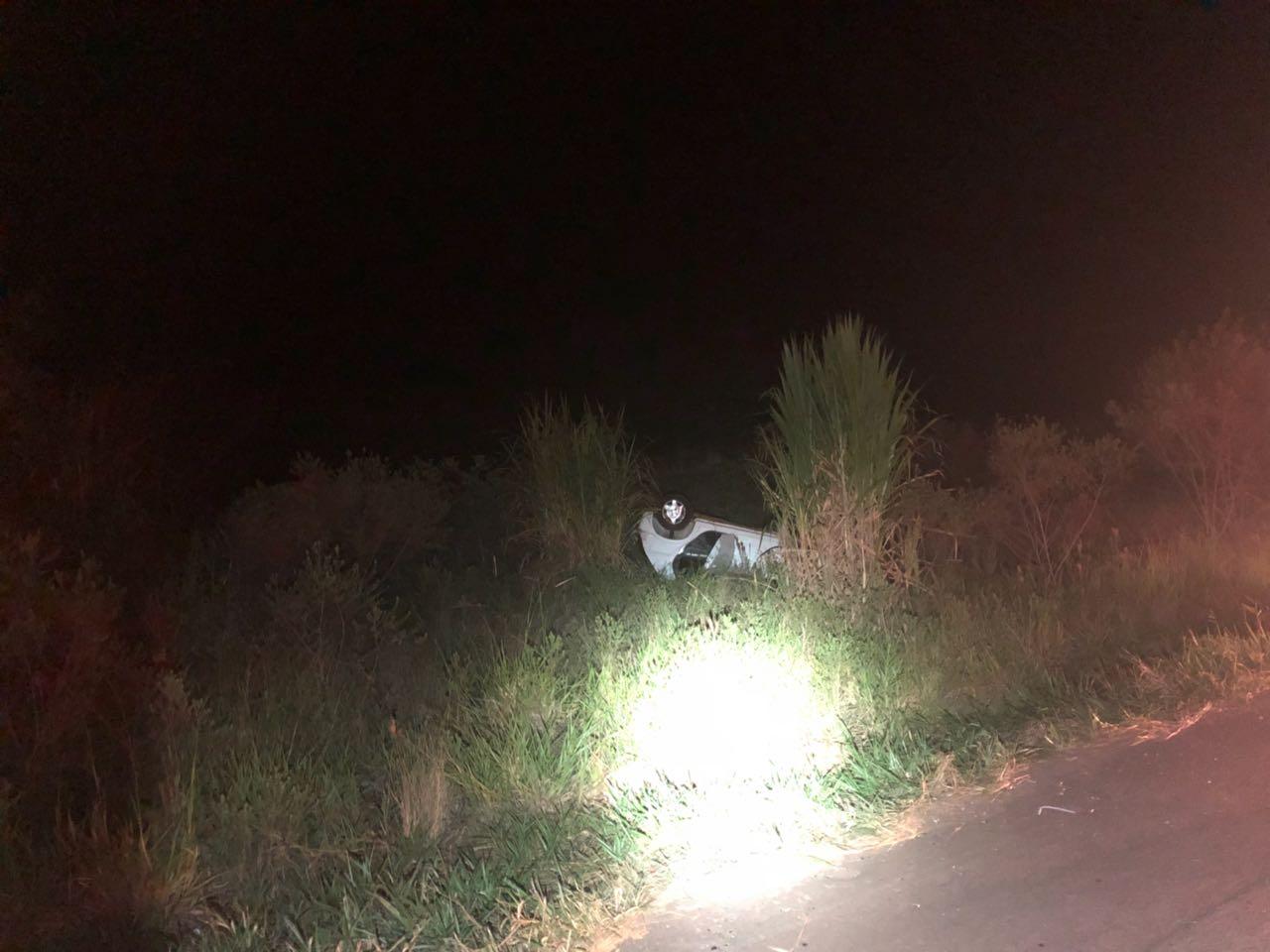 Condutora causa acidente e foge sem prestar socorro em São Miguel do Oeste