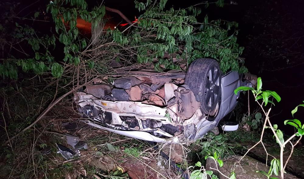 Irmãos morrem em grave acidente na PR-471