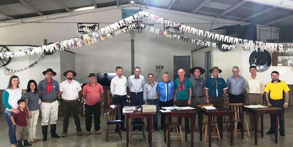 Eleita nova patronagem do CTG Herança Pampiana de Iporã do Oeste