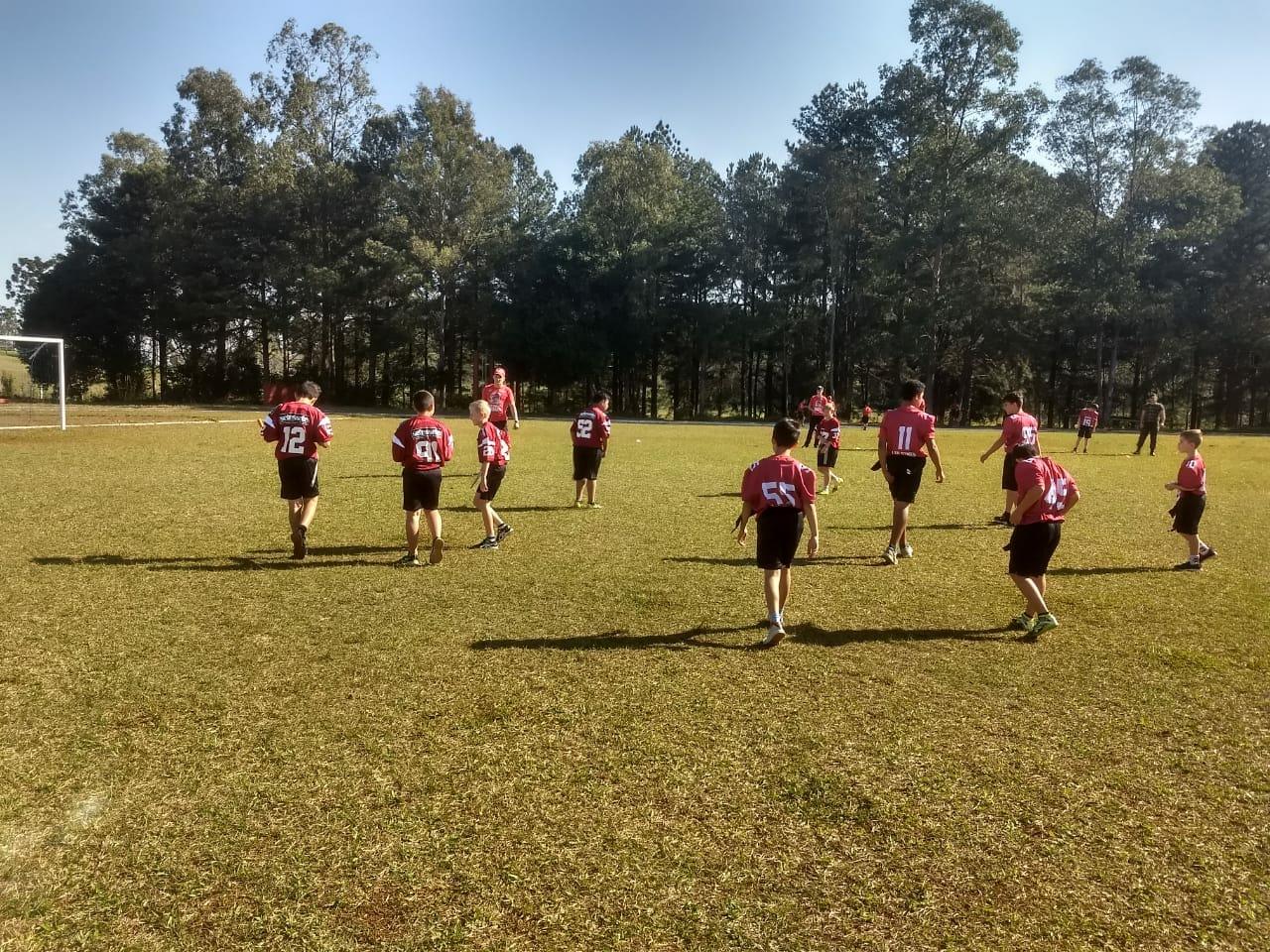 VÍDEO: Pelotão Mirim participa de competição de Futebol Americano