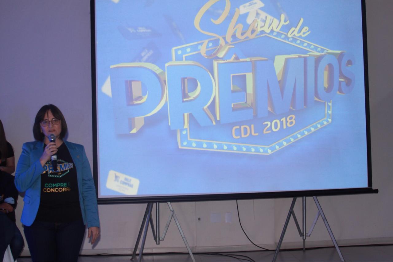 Lançada campanha Show de Prêmios 2018 da CDL