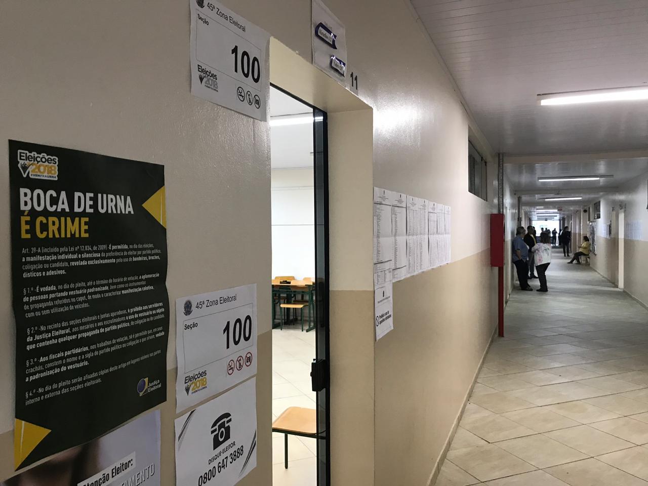 Quase quatro mil eleitores já votaram na Escola São Miguel