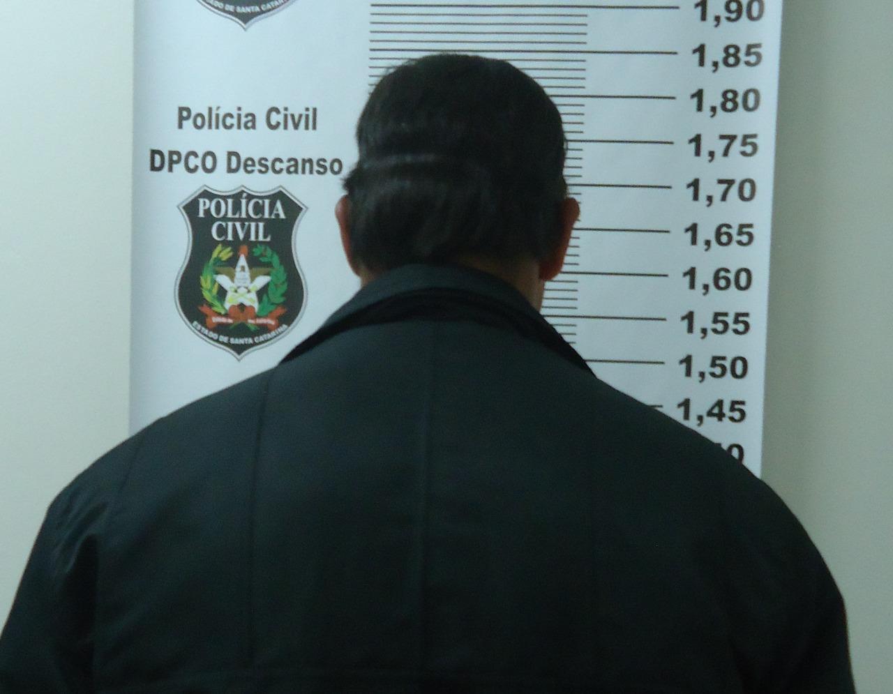 Policia Civil de Descanso cumpre mandado de prisão preventiva do autor de tentativa de homicídio