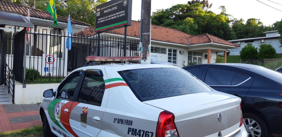 VÍDEO: PM prende autor de arrombamento em São Miguel do Oeste