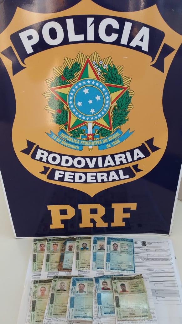 Operação da PRF apreende 11CNHs em SMoeste e Guaraciaba