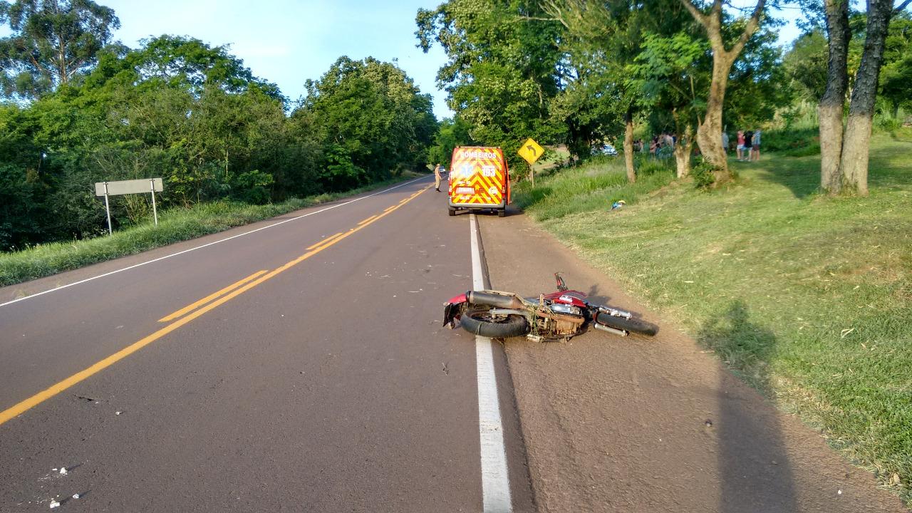Irmãos envolvidos em acidente com morte na SC163