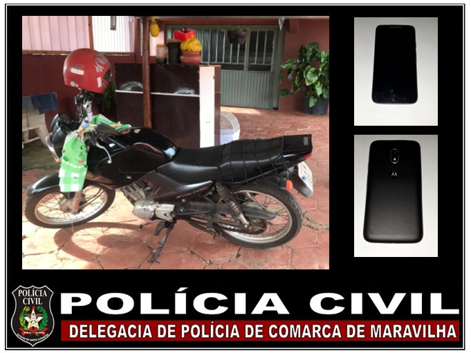 Polícia Civil cumpre mandado de busca e apreensão em Maravilha