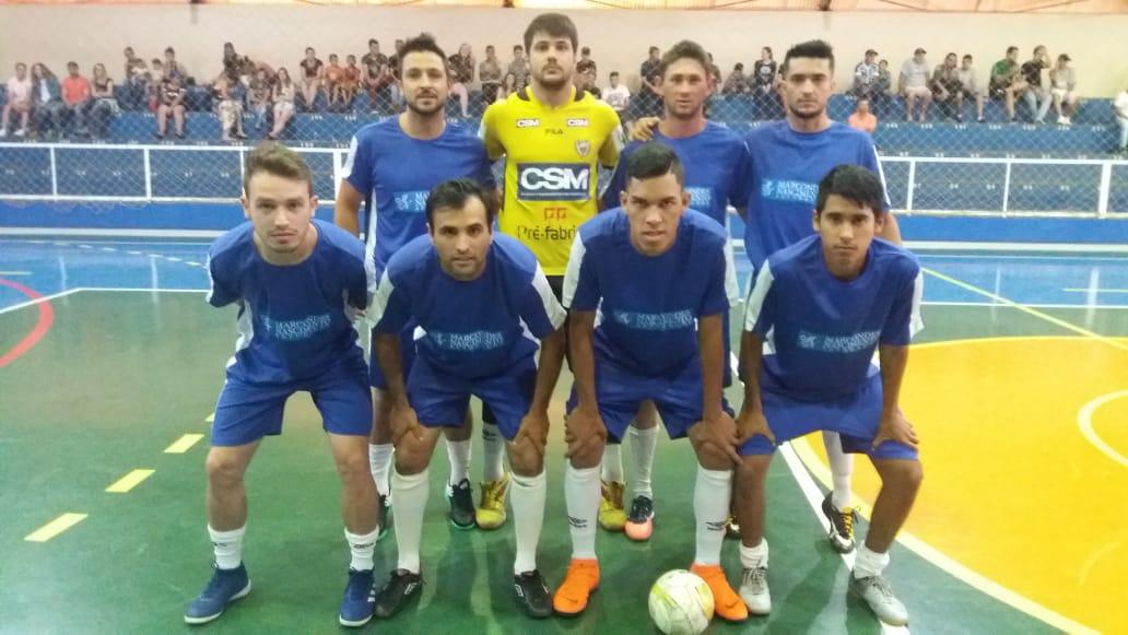 Final do campeonato de futsal Inter Bairros e comunidades