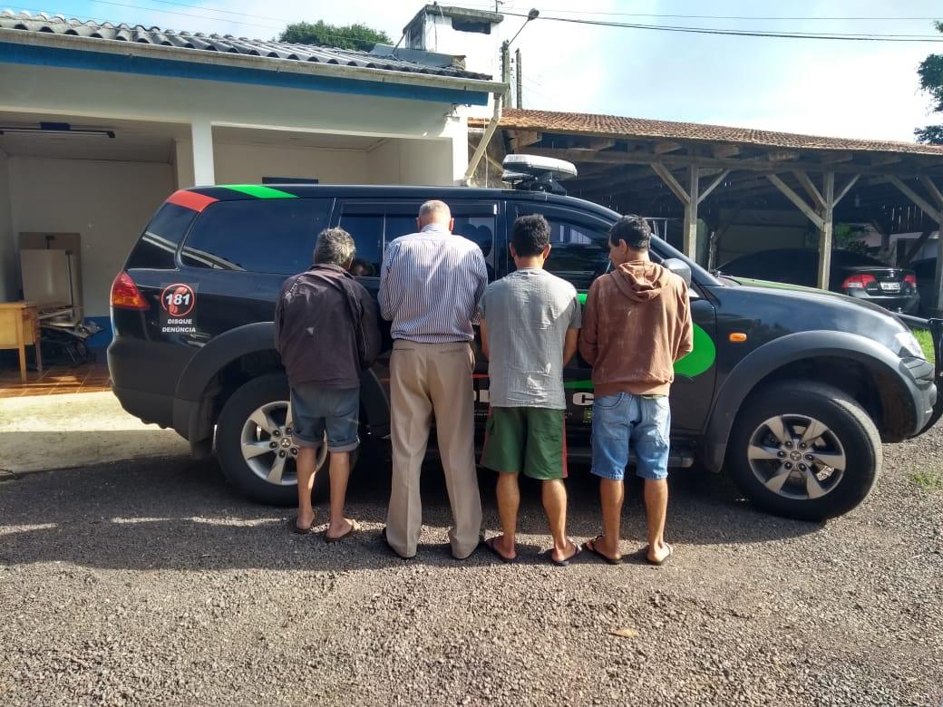 Quatro homens são presos em Itapiranga por estupro