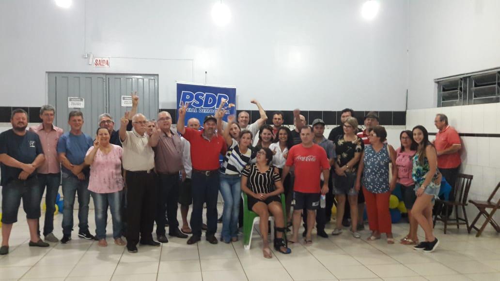 PSDB reelege Cris Zanatta como presidente da sigla em São Miguel do Oeste