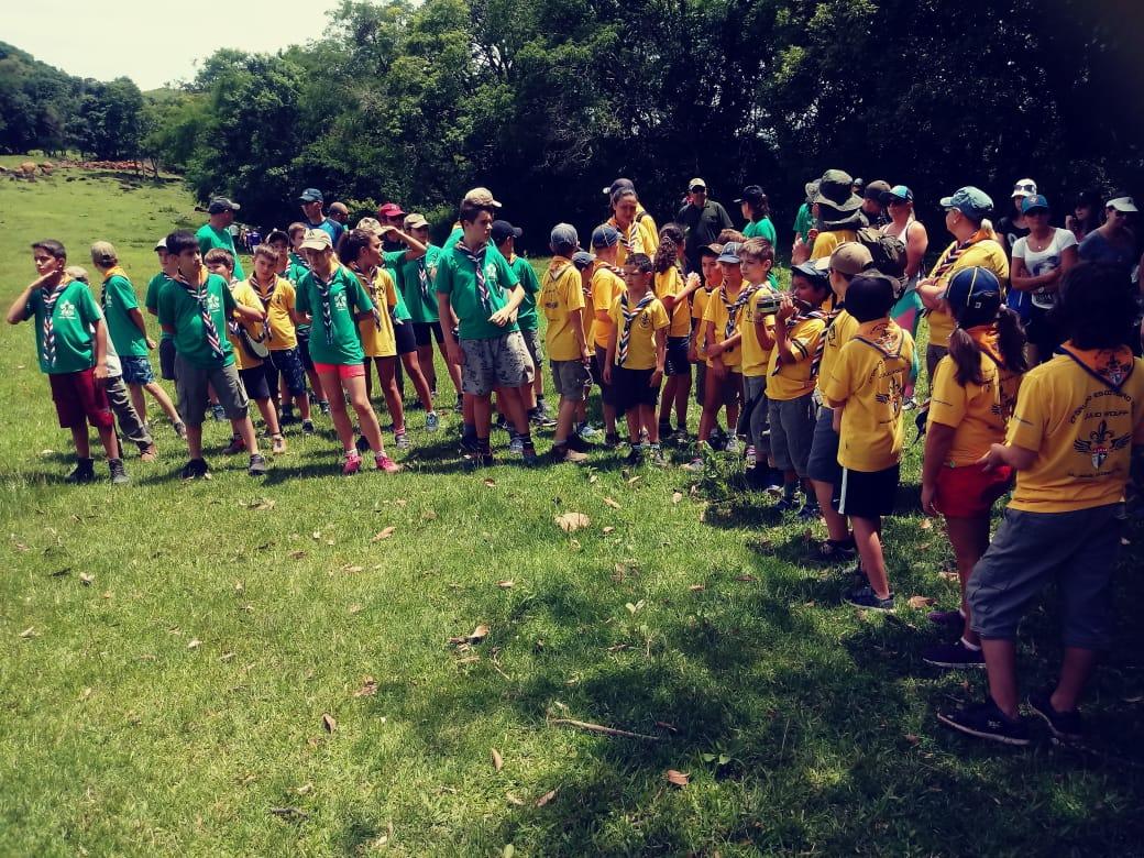 Grupo Ar Julio Wolff promove evento em comemoração ao dia do escoteiro