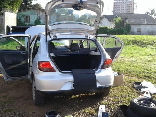 Polícia Civil de Chapecó apreende carga de cocaína avaliada em R$100 mil