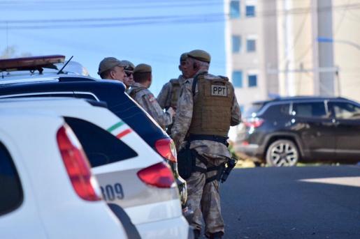 Polícia Militar busca por foragido em São Miguel do Oeste