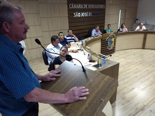 O encontro do legislativo de SJCedro nesta segunda teve a maior duração do ano