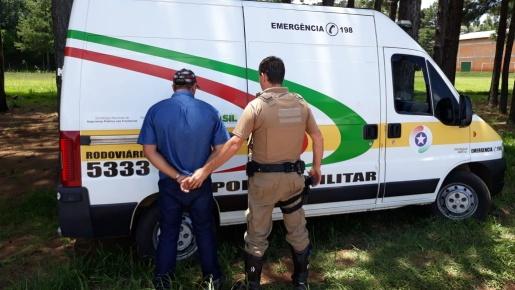 Homem com CNH falsificada é preso em flagrante na SC-161 em Palma Sola