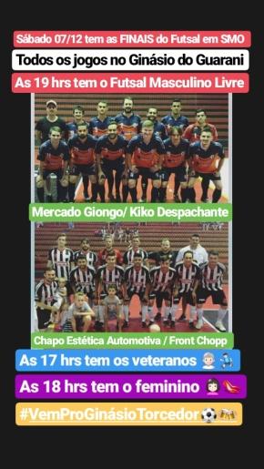 Decisão do Futsal de São Miguel do Oeste será neste sábado
