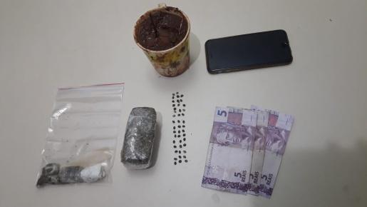 PM prende homem por tráfico de drogas em São Miguel do Oeste