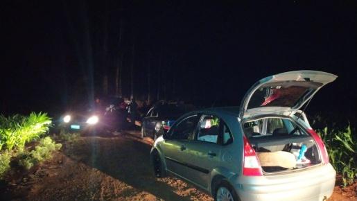Após troca de tiros polícia recupera objetos furtados em residência de Iporã do Oeste