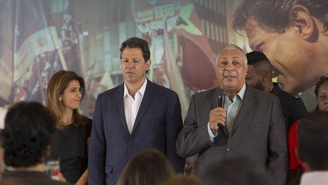 Haddad se reúne com representantes de igrejas evangélicas em São Paulo