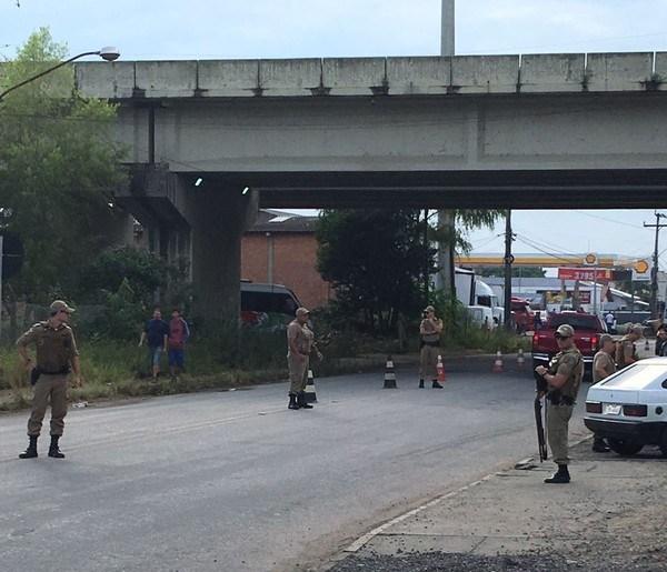 Polícia Militar faz operação em Santa Catarina para evitar migração de criminosos do RJ