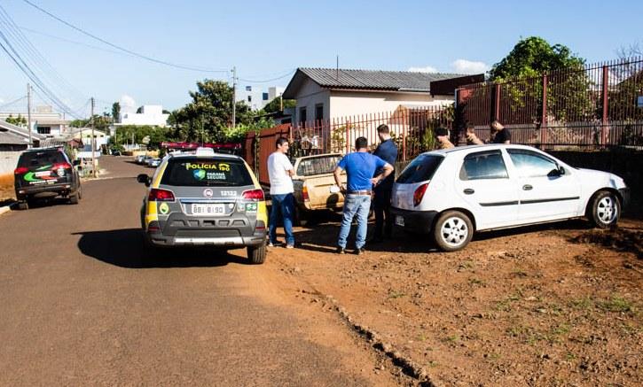 Veículo furtado em São José do Cedro é localizado e apreendido em Barracão