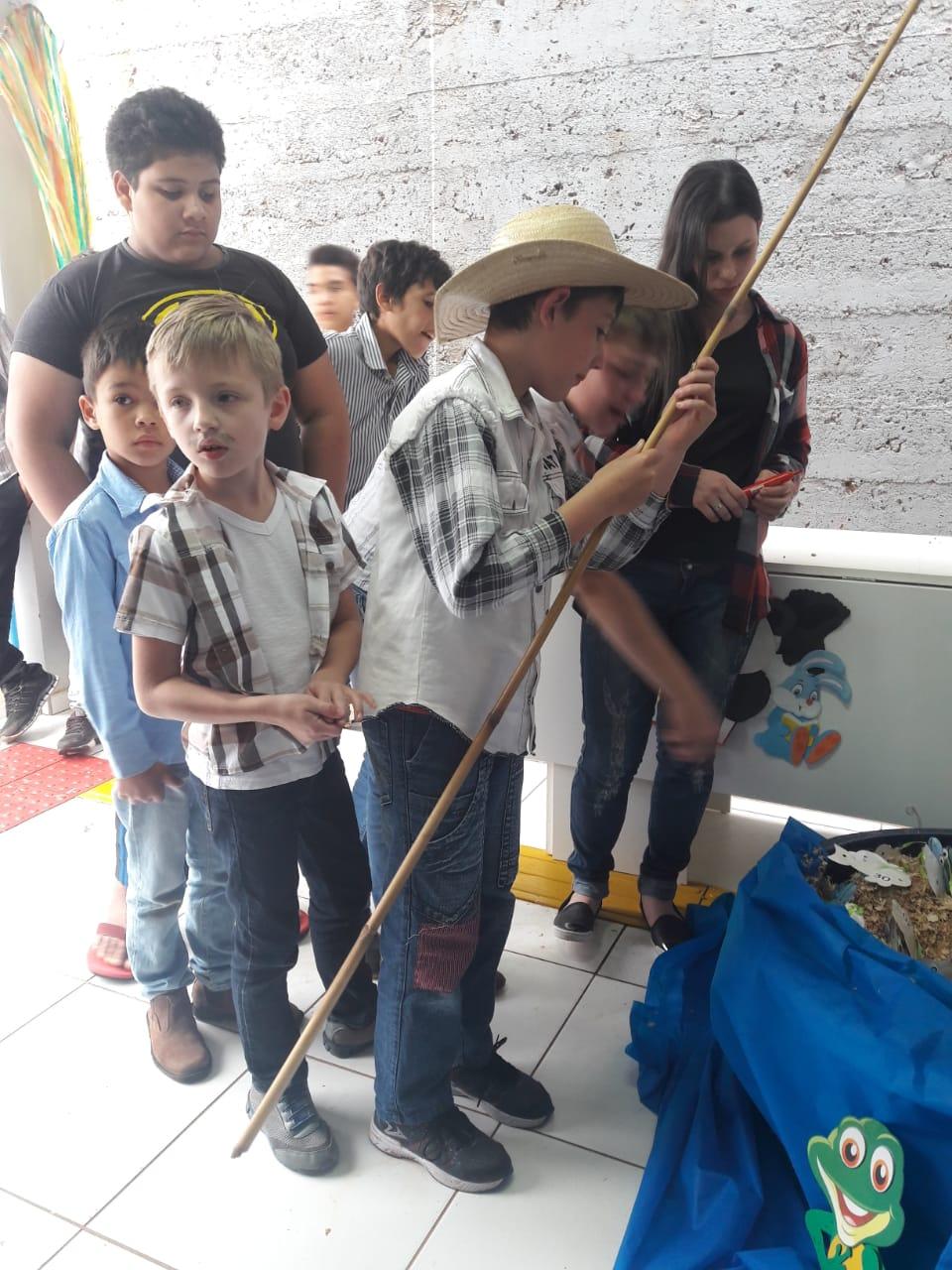 Setor social de São José do Cedro realiza festa Julina aos participantes do Cras