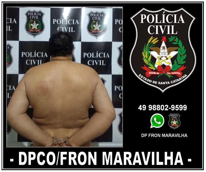 Polícia Civil captura foragido da justiça em Iraceminha