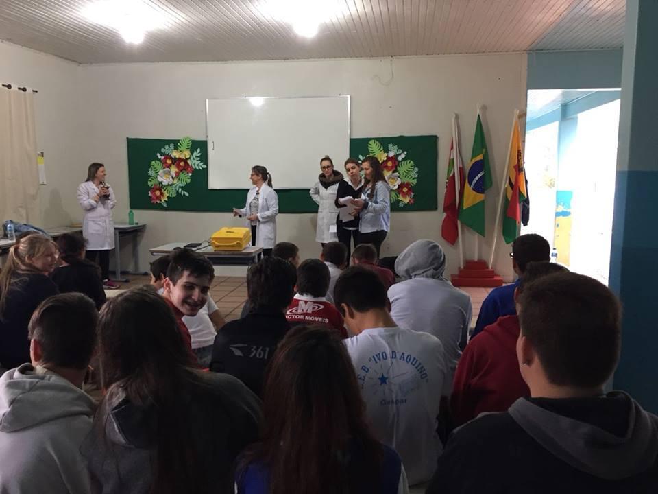 Estudantes do interior participam de atividades de conscientização sobre bullling