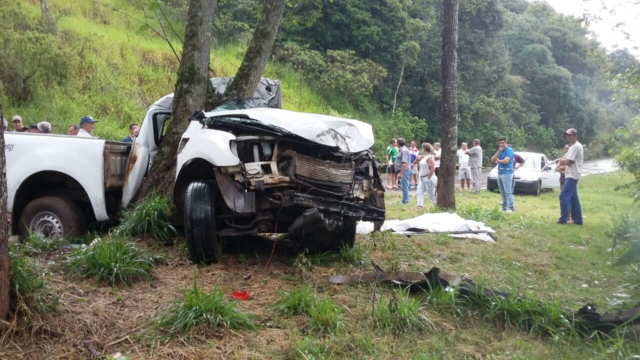 Empresário de Itá morre em acidente na SC-154